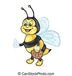 rysunek, Pszczoła