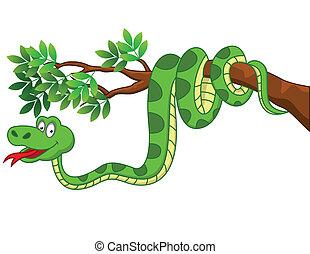 rysunek, wąż