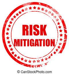 ryzyko, łagodzenie, znak