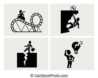 ryzyko, handlowe ikony