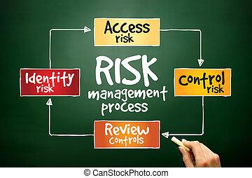 ryzyko, kierownictwo, proces