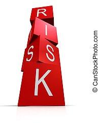 ryzyko, kostki