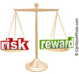 ryzyko, vs, nagroda, słówko, na, tabela, ważyć, positives, i, odmowy