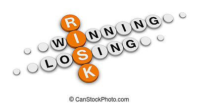 ryzyko, zwycięstwo, albo, zgubić