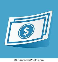 rzeźnik, halabarda, dolar