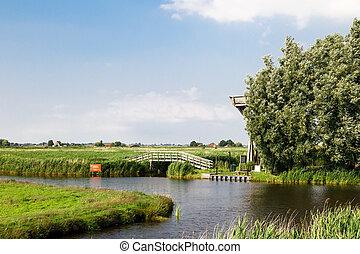Rzeka, Prospekt,  zaandam