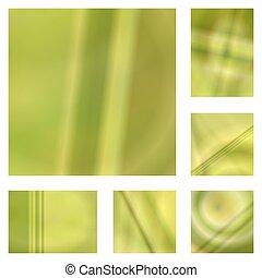 sárga, gradiens, elvont, háttér, tervezés, állhatatos
