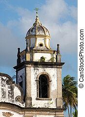 São Bento church - Olinda, Brazil. World-wide Patrimony of...