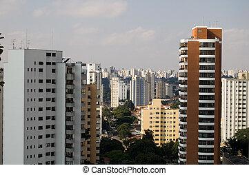São Paulo, general view