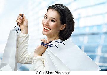 säcke, shoppen