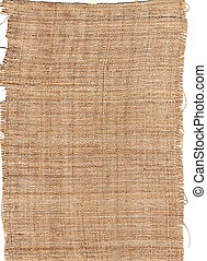 säckväv, fiber, säckväv, struktur, naturlig, hessisk