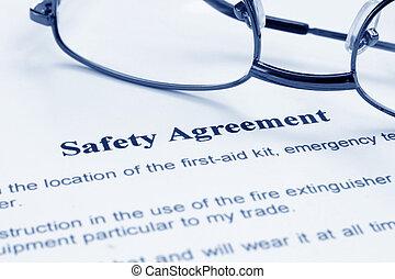 säkerhet, överenskommelse