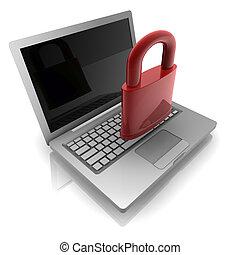 säkerhet, dator