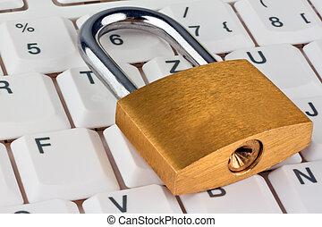 säkerhet, datorer, data