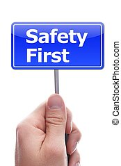 säkerhet först