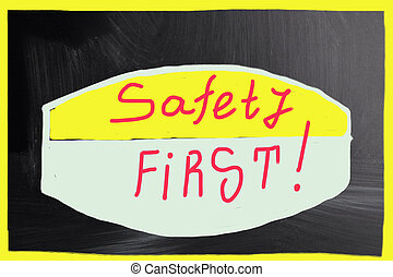 säkerhet, first!