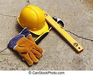 säkerhet gear, utrustning