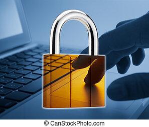 säkerhet, internet