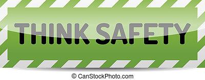 säkerhet, tänka