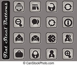 sätta, ämbete ikon