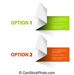 sätta, av, färgrik, vektor, prov, alternativ, klistermärken
