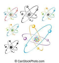 sätta, molekyl