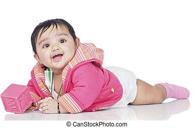 säugling, 6-8, monat