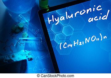 säure, hyaluronic