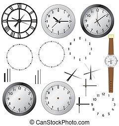 sæt, clocks.
