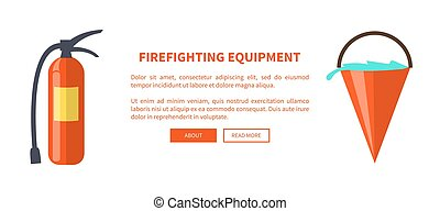 sæt, ild, isoleret, udrustning, beskyttelse, specielle
