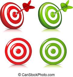 sæt, target
