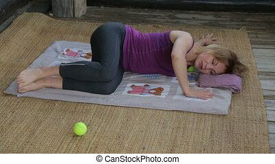 séance entraînement, instructeur, fitness, extérieur, ...
