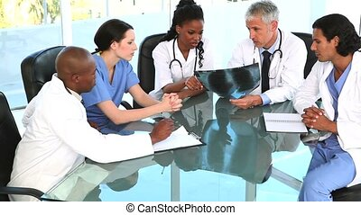 séance, vérification, bureau, quoique, médecins, sourire,...