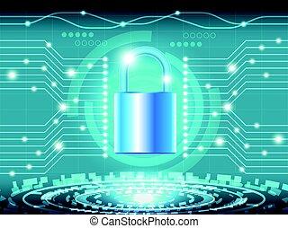 sécurité, 5, cyber