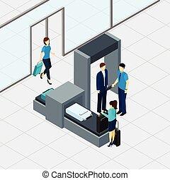 sécurité aéroport, chèque