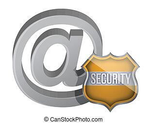 sécurité, bouclier, internet