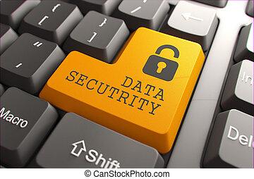 sécurité, button., clavier