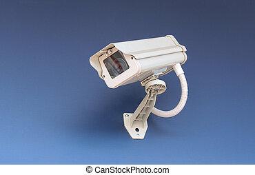 sécurité, cctv, appareil-photo.