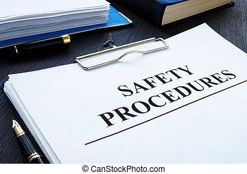 sécurité, clipboard., santé, procédures, lieu travail