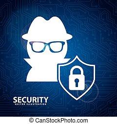 sécurité, conception, système