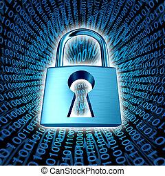 sécurité, données