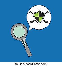 sécurité, données, système, recherche