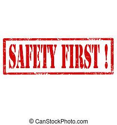 sécurité, first-stamp