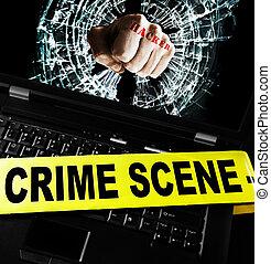 sécurité informatique, infraction