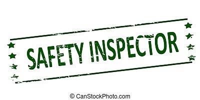 sécurité, inspecteur