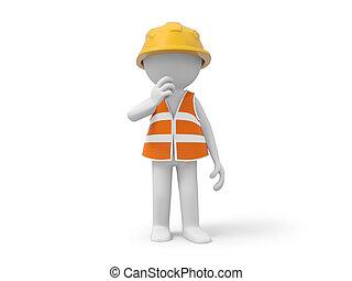 sécurité, ouvrier