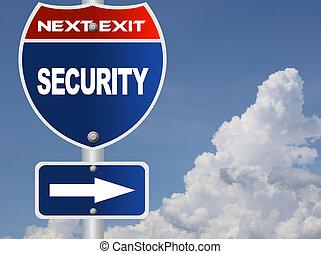 sécurité, panneaux signalisations