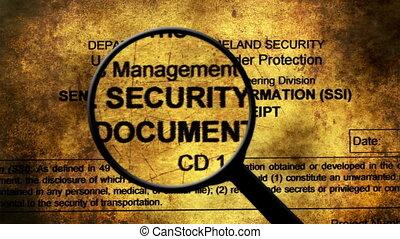 sécurité, recherche, information, sensible