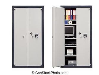 sécurité, sûr, casier