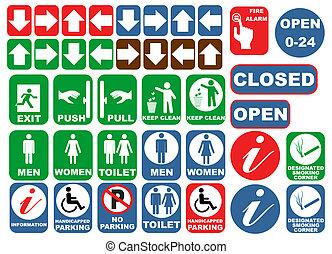 sécurité, signes